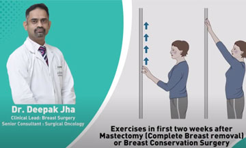Exercises after Breast surgery (immediately after surgery)